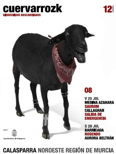 Medina Azahara, Saurom, Callaghan, Salida de Emergencia | Barricada, Rosendo, Aurora Beltrán · Cuervarrozk 2008 Festival de Rock Calasparra Murcia