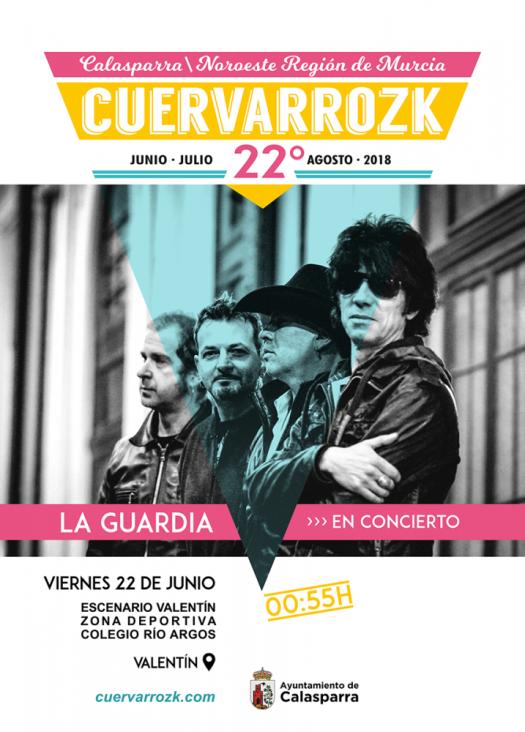 La Guardia · Cuervarrozk 2018 Festival de Rock Calasparra Murcia