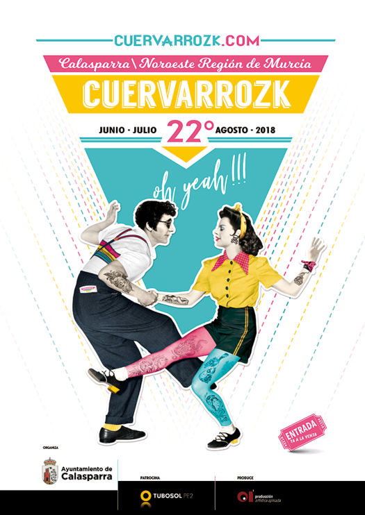 Cuervarrozk 2018 Festival de Rock Calasparra Murcia