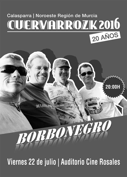 Borbonegro · Cuervarrozk 2016 Festival de Rock Calasparra Murcia