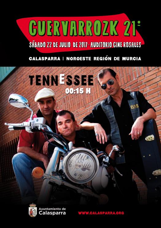 Cuervarrozk 2017 Festival de Rock Calasparra Murcia