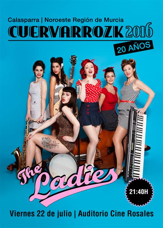 Ladies · Cuervarrozk 2016 Festival de Rock Calasparra Murcia