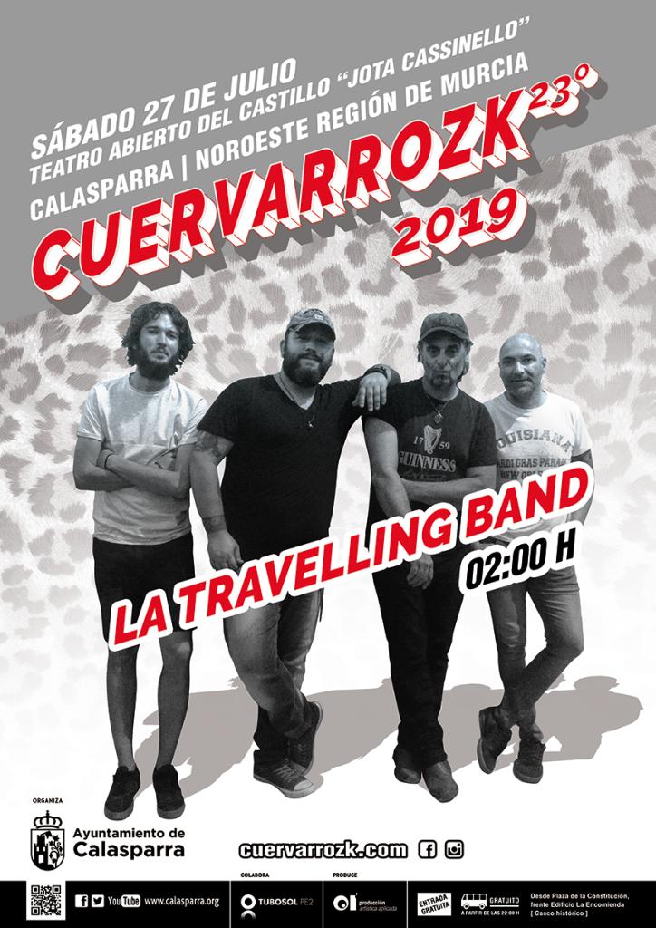 LA TRAVELLING BAND en CUERVARROZK 2019 · Calasparra · 27/07