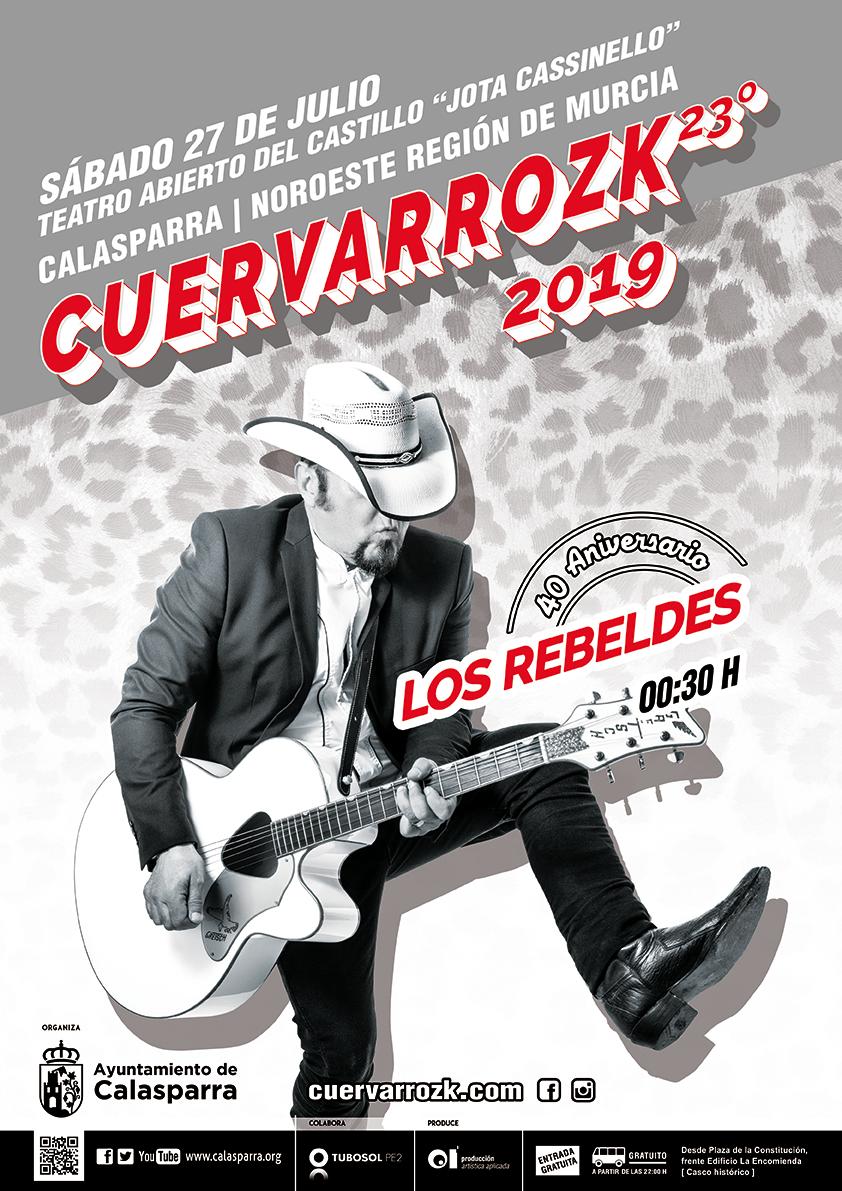 Los Rebeldes en Cuervarrozk 2019 Calasparra · 27/07